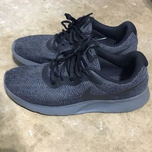 Nike Gray and black shoes 8.5
